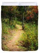 Path In The Prairie Duvet Cover