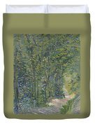 Path In The Woods Paris, May 1887 - July 1887 Vincent Van Gogh 1853  1890 Duvet Cover