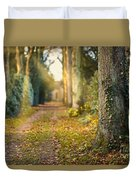 Path Into The Light Duvet Cover