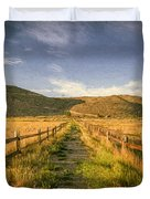 Path To Nowhere Duvet Cover