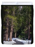 Path To Paradise Duvet Cover