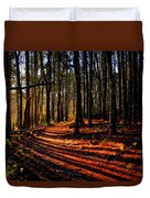 Path To Serenity - Nickerson State Park Duvet Cover