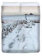 Path To South Hessary Tor IIi Duvet Cover