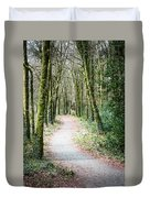 Path To The Forest Duvet Cover