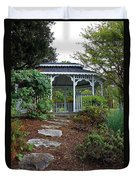 Path To The Gazebo Duvet Cover