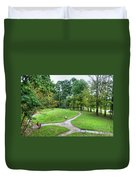 Path To The Mound Duvet Cover