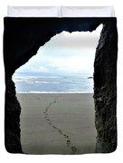 Path To The Ocean Duvet Cover