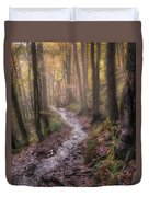 Path Trough The Woods Duvet Cover
