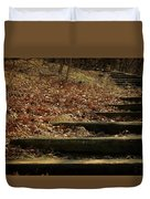 Paths Of The Seasons Duvet Cover