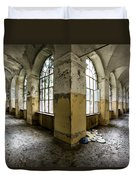 Pathway Around Insanity - Urban Exploration Duvet Cover