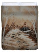 Pathway To Freedom Duvet Cover