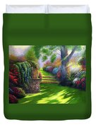 Pathway To Heaven Duvet Cover