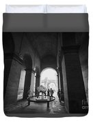 Pathway To History In Rome Duvet Cover