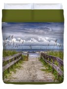 Pathway To Paradise Duvet Cover