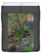 Pathway To Serenity Duvet Cover