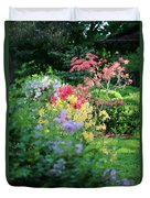 Pathway To Spring Duvet Cover