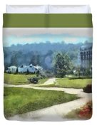Pathways Duvet Cover