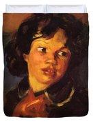 Patience 1915 Duvet Cover