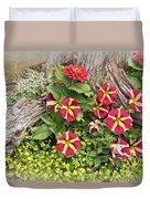 Patio Container Garden Duvet Cover