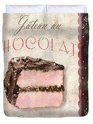 Patisserie Gateau Au Chocolat Duvet Cover