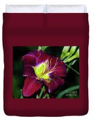 Patricia Neal Daylily Duvet Cover