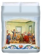 Patrick Henry, First Continental Duvet Cover