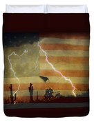 Patriotic Operation Desert Storm Duvet Cover by James BO  Insogna