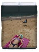 Pattaya Beach Duvet Cover