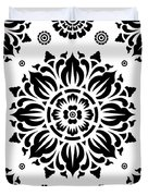Pattern Art 01-2 Duvet Cover by Bobbi Freelance