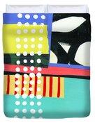 Pattern Grid #2 Duvet Cover