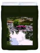 Patterns Of Peace Duvet Cover