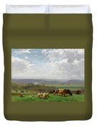 Paturage En Auvergne Duvet Cover