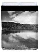 Pau-pique Lake Duvet Cover