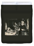 Paul Ehrlich, German Immunologist Duvet Cover by Photo Researchers