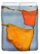 paul klee Painting, Scarecrows  Duvet Cover