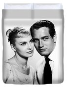 Paul Newman And Joanne Woodward In The Long Hot Summer 1958 Duvet Cover