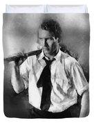 Paul Newman By John Springfield Duvet Cover