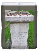 Paul Revere Grave  Duvet Cover