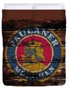 Paulaner Beer Sign 1a Duvet Cover