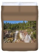 Paulina Creek Falls From The Top Duvet Cover