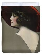 Pauline Frederick In Paid In Full 1919 Duvet Cover