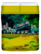 Paving Crew 2 Duvet Cover