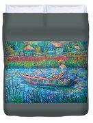 Pawleys Island Fisherman Duvet Cover
