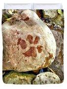 Paws On The Rocks Duvet Cover