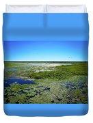 Paynes Prairie View Duvet Cover