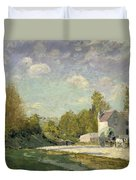 Paysage Duvet Cover by Alfred Sisley
