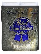 Pbr  Bucket O Beer  Duvet Cover by Chris Berry