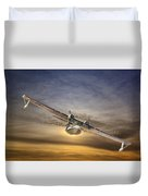 Pby Catalina Soars Duvet Cover