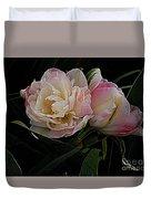 Pe0ny Tulip Duet 2 Duvet Cover