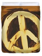 Peace 2 Duvet Cover